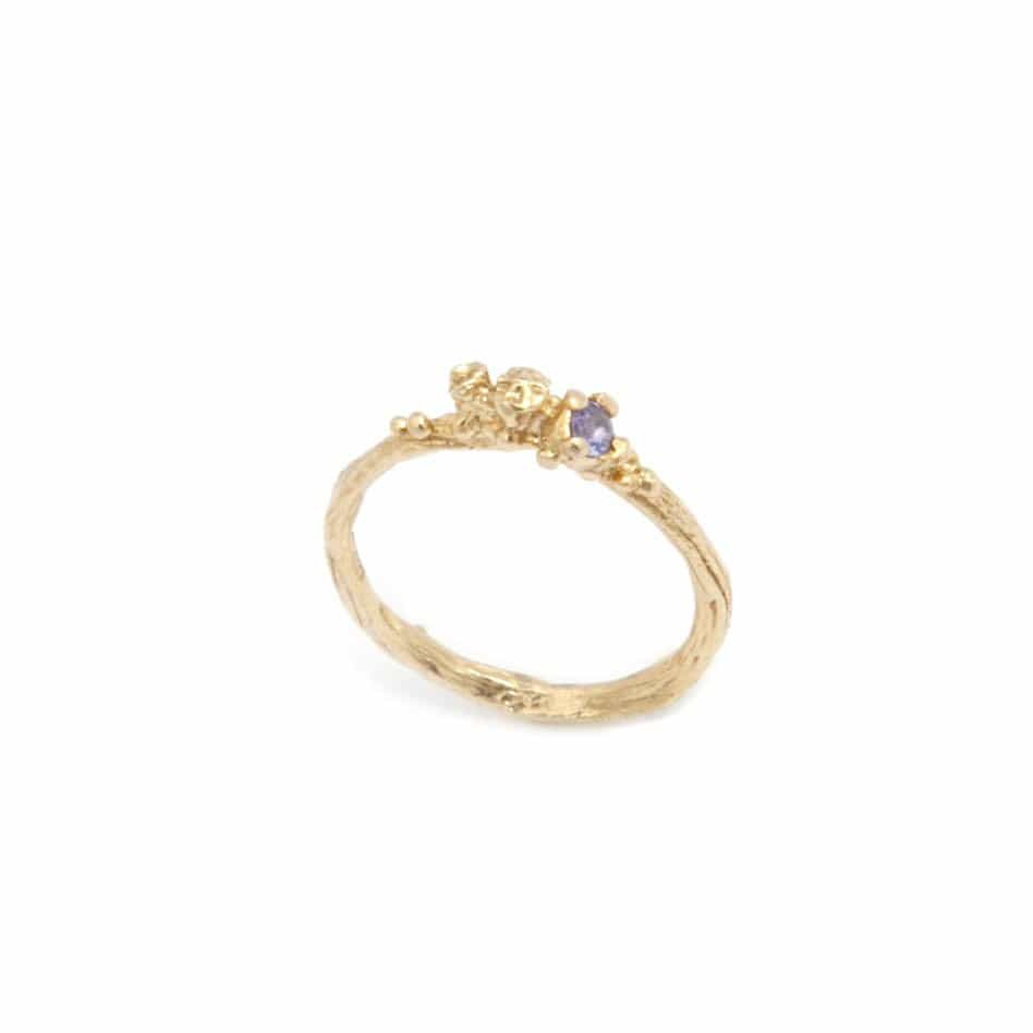 Eily-O-Connell-Yellow-Gold-Plated-Tanzanite-Silver-Ring-2
